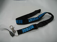 REMOVE BEFORE FLIGHT LANYARD NECKSTRAP AVIATION LUGGAGE FLAG TAGS BLACK/blue 1