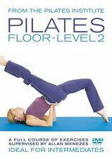 PILATES FLOOR LEVEL 2 A FULL COURSE OF EXERCISES BY ALLAN MENEZES NEW DVD Tv
