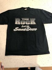 90s WWF Wrestling THE ROCK Graphic Vintage, LITTLE ROCK T-Shirt Adult Men's- XL