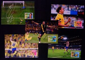 474-478 Sweden Zlatan Ibrahimovic official maxi cards soccer 2014 football