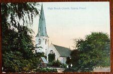 Vintage Church postcard - High Beech Church  Epping Forest.Essex.