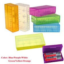 Colorful 18650 CR123A 16340 Battery Case Holder Box Storage Color Optional Hot