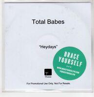 (GN434) Total Babes, Heydays - 2015 DJ CD