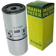 MANN FILTER Ölfilter W 11 102/34 für Renault 19 I Chamade 1.9 TD 1.8 16V Kangoo