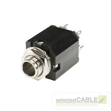 HICON 6,3mm Klinke 3-pol Einbaubuchse vertikal Löttechnik Audio | HI-J63S-PVM