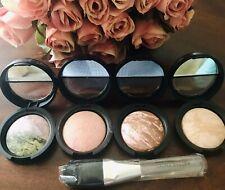 New Laura Geller Beauty Baked 101 - 4 Pieces .06 OZ Size Makeups w/ Brush