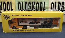 JOAL JCB MERCEDES ACTROS WORLDWIDE EVENTS TRUCK CAMION 1:50 REF 359