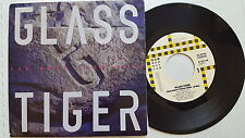 """GLASS TIGER - Far Away From Here / This Island Earth 1988 AOR Hard Rock 7"""""""