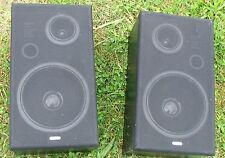 SET TWO vintage speakers SANYO Cash on collection only FROM Oswestry NO POSTAGE