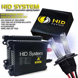 GE Xenon Headlight Fog Light HID Kit 28000LM H1 H3 H4 H7 H10 H11 H13 9004 9005