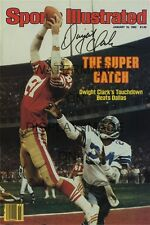 Dwight Clark SI Autograph Replica Poster - San Francisco 49ers - The Catch