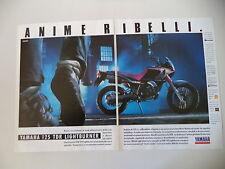advertising Pubblicità 1990 MOTO YAMAHA TDR 125 LIGHTBURNER