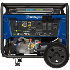 Westinghouse WGen7500DF - 7500 Watt Dual Fuel Portable Generator w/ GFCI Prot...