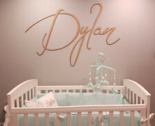 Extra Large Custom Personalised Baby Name Wall Sign
