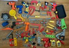 Big Lot Of Kids Play Tools 🛠 Black & Decker And Other Brands Drills Saws & More