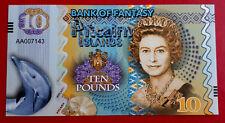 Billet île Pitcairn Islands TEN Pounds 10 £ Reine Élisabeth II Polymère 2018