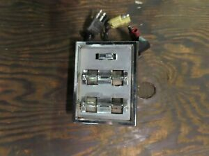 1964-1966 Ford Thunderbird Power Window Switch Plate Assembly OEM