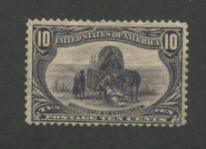 1898 United States Postage Stamp #290 Mint F/VF Regummed