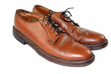 Florsheim Imperial KENMOOR 93603 SZ 9 B Brown Pebbled Leather 5 Eye Vibram Sole