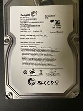 TWO Seagate Barracuda Green 1TB Hard Drives