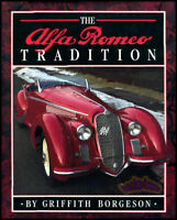 ALFA ROMEO BOOK TRADITION BORGESON GRIFFITH HISTORY FOUNDERS DESIGNERS SPIDER GT