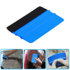 Blue Pro Felt Edge Vinyl wrapping tool Squeegee / Scraper Car Van Bike Wrap