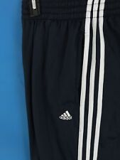 Navy Blue Adidas mens Sweat Pants basketball soccer pants, size L