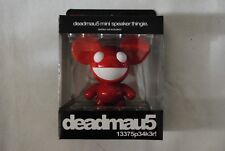 DEADMAU5 RED & WHITE MINI SPEAKER THINGIE NEW OFFICIAL MP3 iPOD PHONE RARE