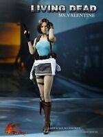 1/6 Ms.Valentine Jill Suit Costume Head Set F Action Figure No Body Hot Heart