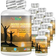 Pack of 12 Grow Power - Powerful Growth Supplement for Children (10+) & Teens