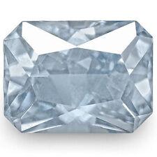 Emerald Shaped Transparent Loose Sapphires