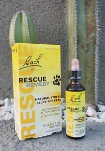 RESCUE REMEDY PET by Dr. Bach  20 ml, Free Shipping!