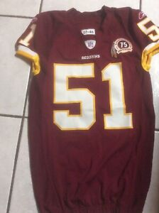 2007 Redskins Game Worn/Issued Jersey (Smith)