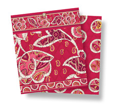 VERA BRADLEY~Quilted Placemats~ROSY POSIES~Set of Four(4)~RARE & RETIRED~BNWT!