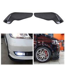 Universal Carbon Fiber Winglet Type Auto Car Front Bumper Lip Splitter Diffuser