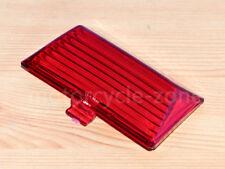 Red Rear Fender Tip Light Mudguard Lamp Lens For Harley Electra Glide FLHT FLSTC