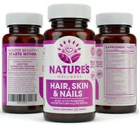 Hair, Skin & Nails Supplement - 28 Key Active Ingredients for Healthier Hair