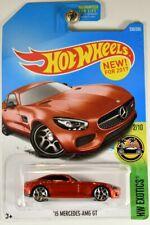 MATTEL HOT WHEELS DVC48 '15 MERCEDES-AMG GT HW EXOTICS 2/10 LONG CARD