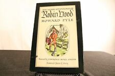 The Merry Adventures of Robin Hood Howard Pyle 1952 HC Slipcase