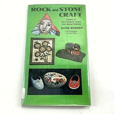 Rock And Stone Craft Instructional Book by Elsye Sommer - Rock Painting how to