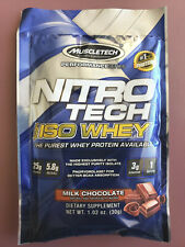 Muscletech Nitro-Tech 100% ISO Whey Protein Isolate Milk Chocolate 20 Servings