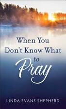 When You Don't Know What to Pray (Paperback or Softback)