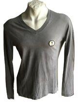 T-Shirt da uomo sportiva Cesare Paciotti 4US Maglia slim manica lunga cotone M