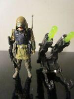 Moroff Star Wars Rogue One Alien Rebel Commando 3.75 5POA figure loose
