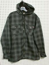 Dickies Men's Bonded Fleece-Lined Plaid Jacket, Size: Large (42-44)
