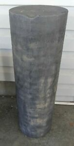 LARGE GRAPHITE BLOCK 82lbs 8 inch diameter x 23 in. tall CASTING MOLD