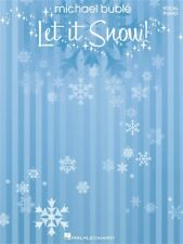 Buble Michael Let It Snow Voice & Piano Learn to Play 0 SHEET MUSIC BOOK