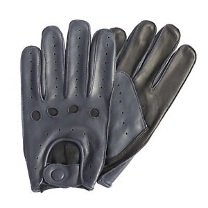 WOMENS CLASSIC DRIVING GLOVES SOFT GENUINE REAL LAMBSKIN LEATHER
