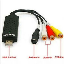 USB2.0  Audio Video Capture Card EM2860 DVD /STB CVBS Audio L/R to PC Converter