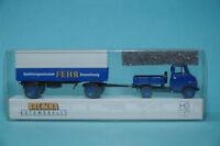 Brekina 37609 HANOMAG HENSCHEL Enser Tracteur avec remorque Fehr HO 1:87 NEUF